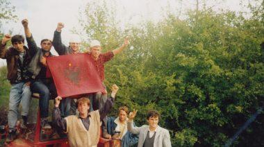 Blood Feud Reconciliation, Zhegoc, Gjilan 1990.